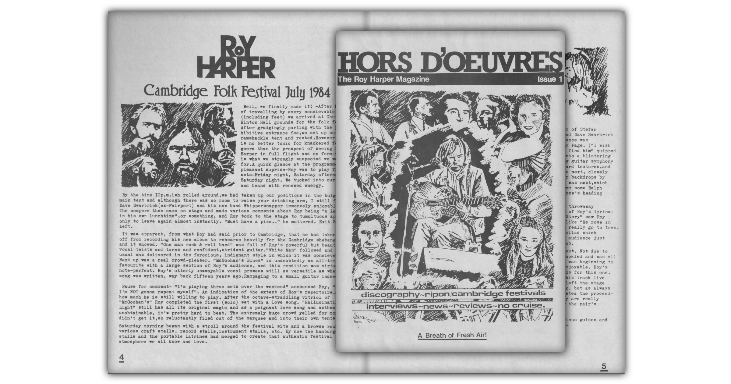 Hors d'Oeuvres Issue 1